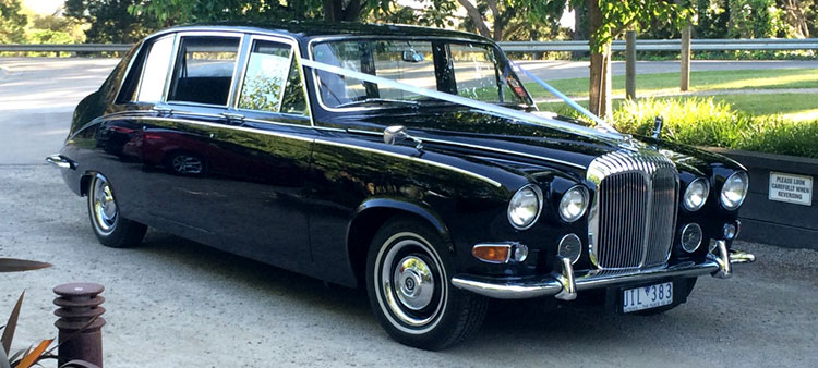Black Daimler Royal Limousine